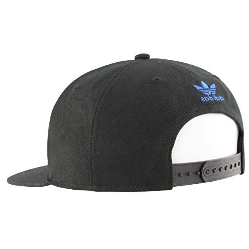 Flatbrim Black/Blue, One Size