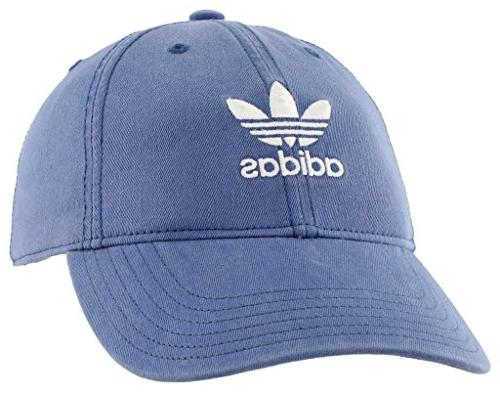 adidas Women's Relaxed Adjustable Royal/White, Size