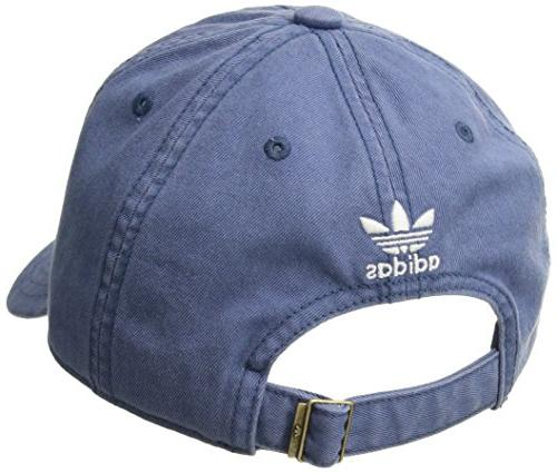 adidas Women's Relaxed Adjustable Royal/White, One Size