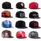 New Men Women Adjustable Flat Brim Baseball Cap Hipster Hip