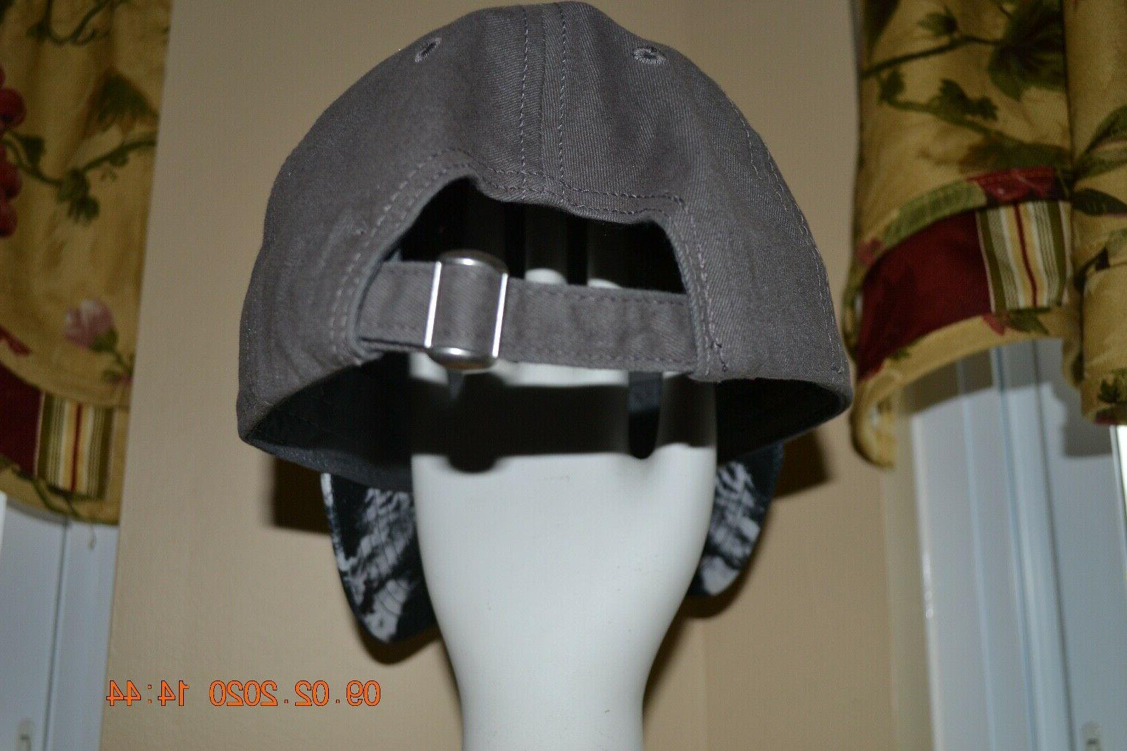 Disney Adult Mens Womens Gray Tie embroidered Ball Hat
