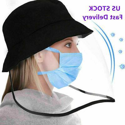 Anti-fog Baseball Cap Full Face Cover Protective Mask Fisher