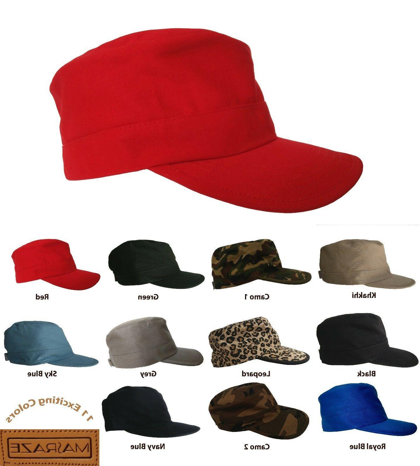 Masraze Military Cadet Cap Men/Women Hat