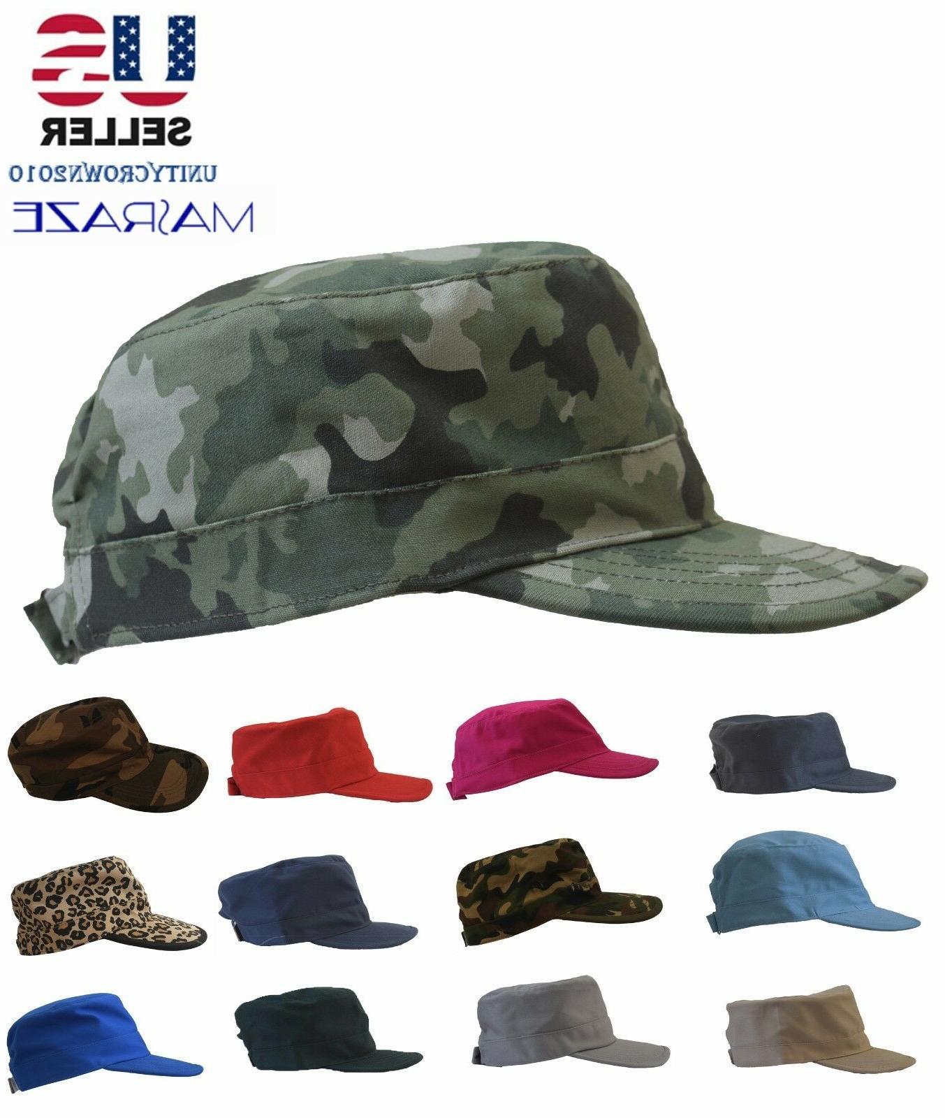 Masraze Army Military Cadet Men/Women Cotton