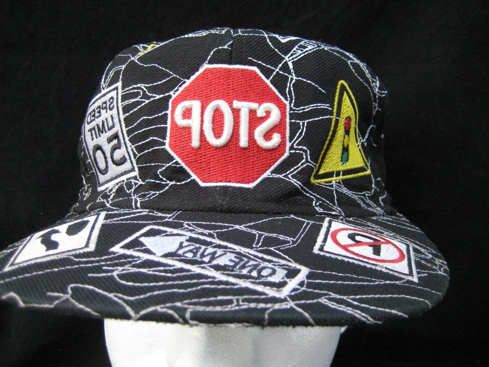 City Authentic Headwear Baseball Cap Street Signs