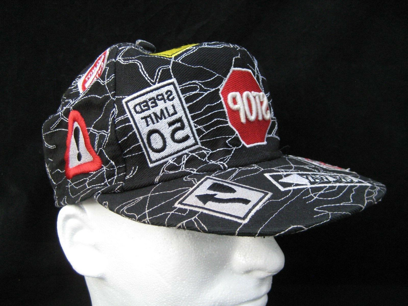 authentic headwear baseball cap hat street signs