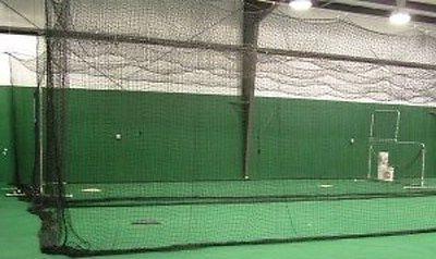 Baseball Batting Cage Net Netting #42   HDPE 12' x 12' x 55'