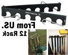 Baseball Bat Holder Rack Organizer Storage Display Wall Hang