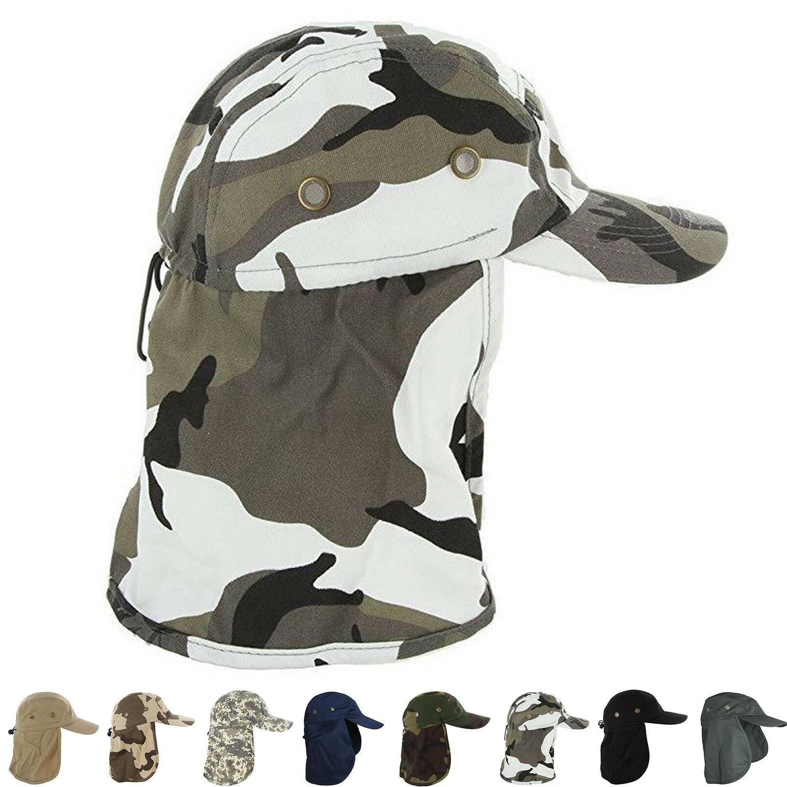baseball cap camping boonie fishing ear flap