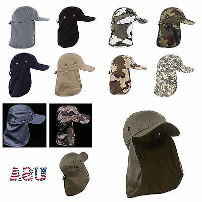 Baseball Fishing Ear Neck Cover Army
