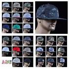 Mens Baseball Cap Flat Bill Snap back Military Hunting Hikin