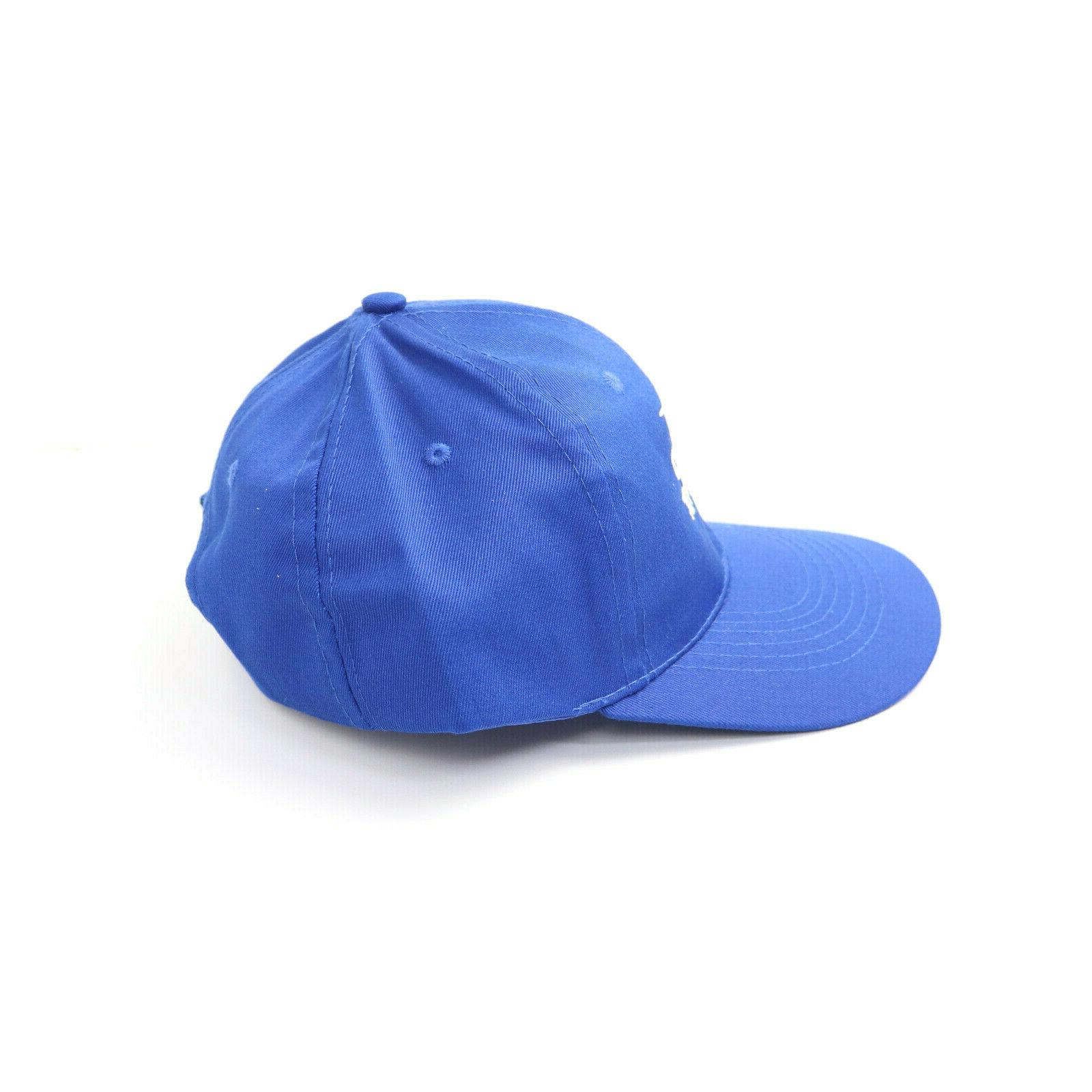 Bud Hat Embroidered Blue Strap