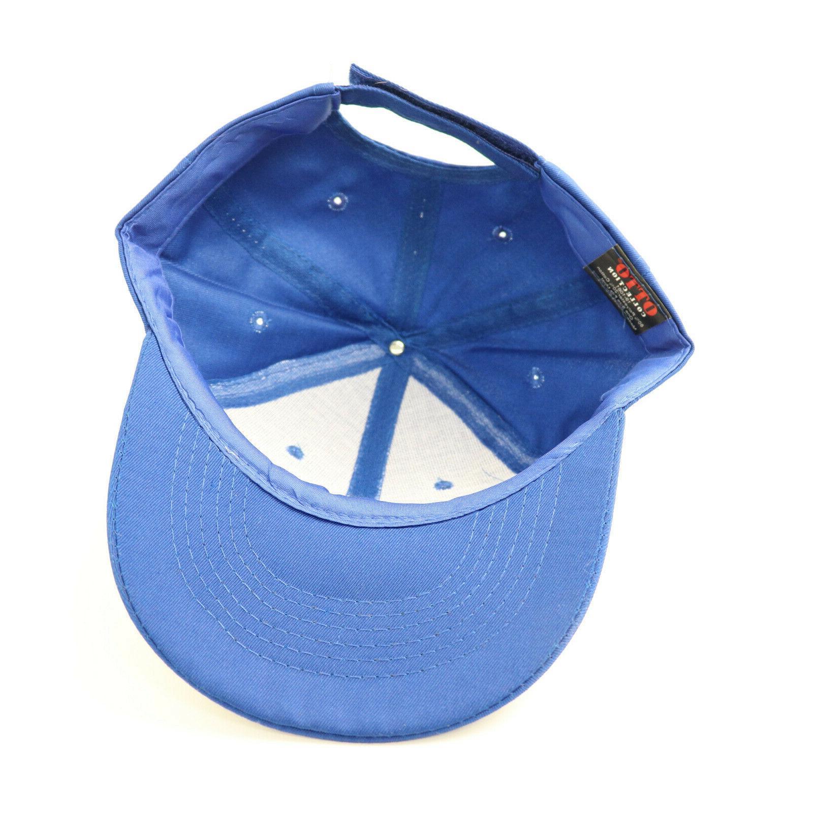 Bud Cap Hat Blue Strap Back