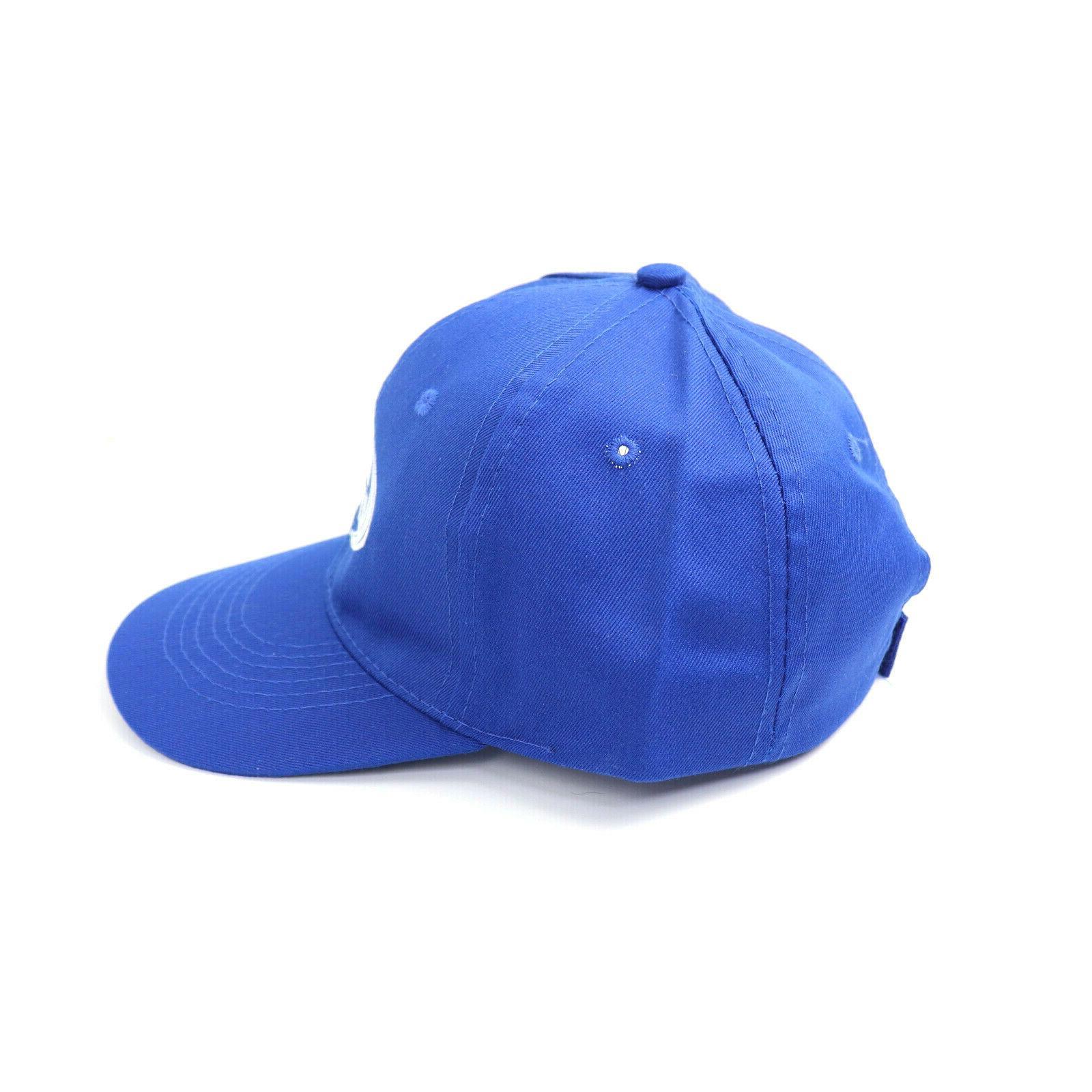 Hat Blue Strap