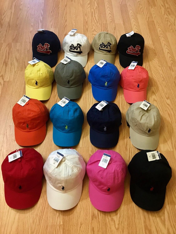 baseball cap hats pony logo one size