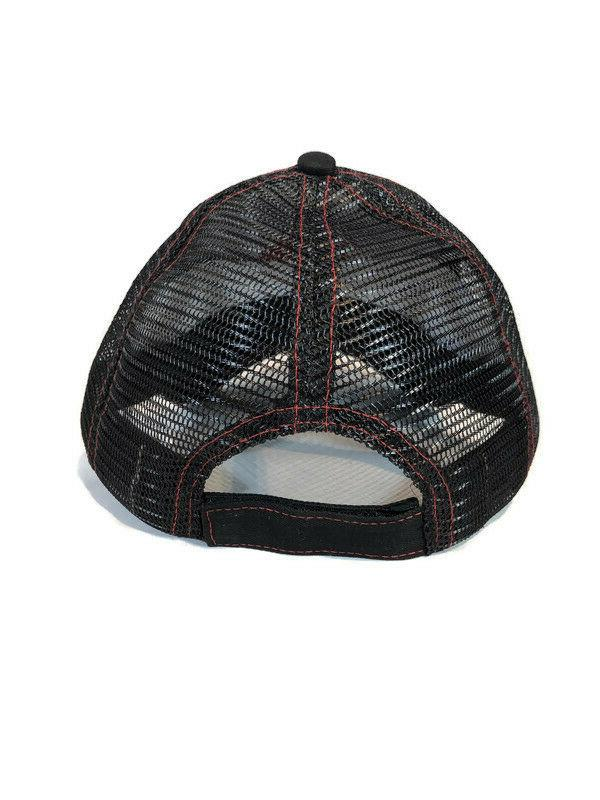 Mac Mesh Trucker with Logo & Adjustable Strap