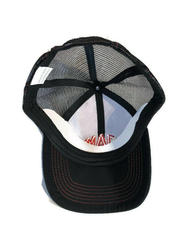 Mac Tools Baseball Mesh Hat with Red Adjustable