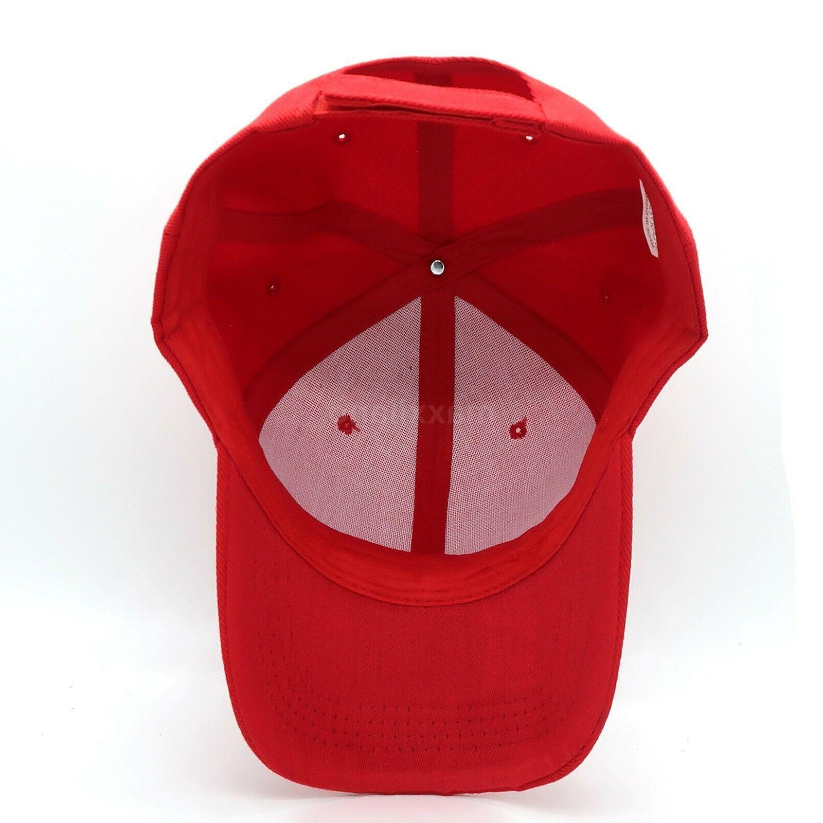 Plain Baseball Cap Adjustable Polo Visor