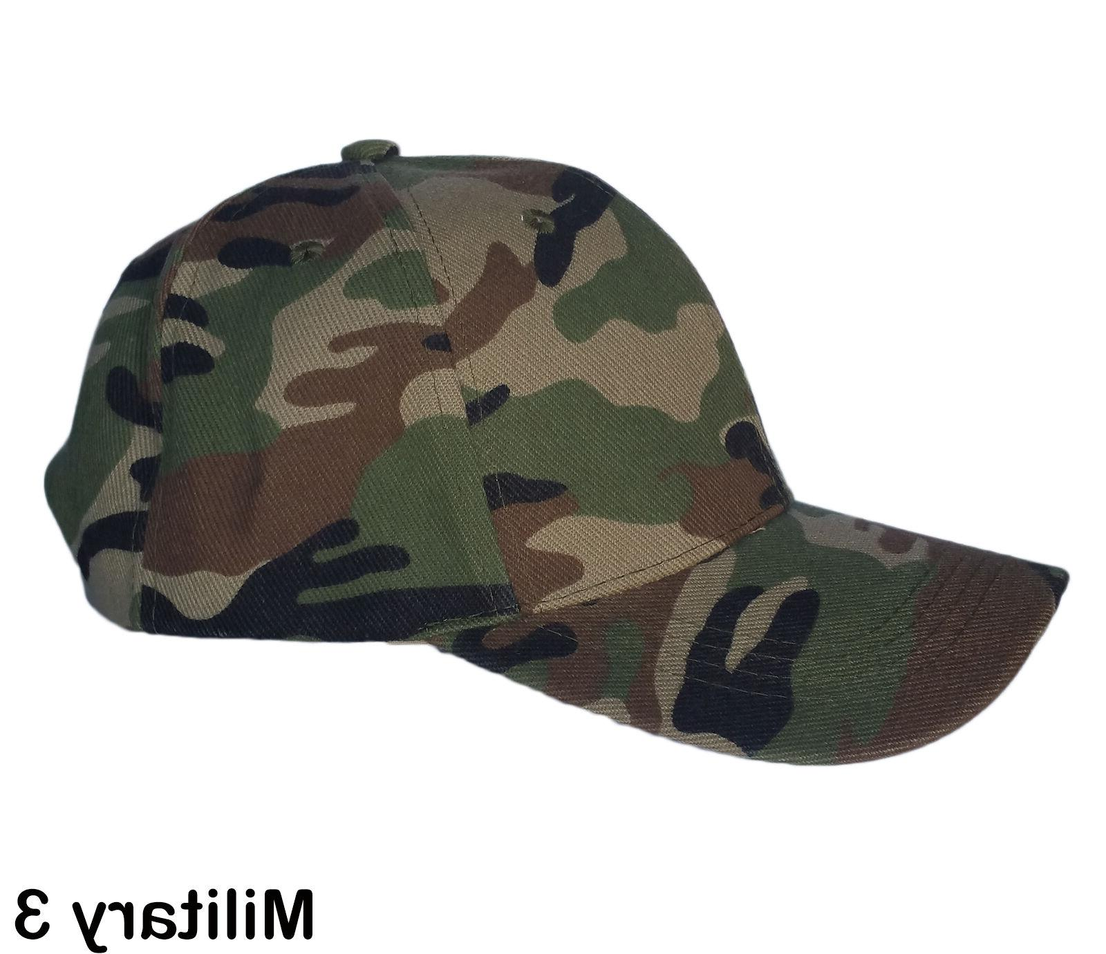 Womens Plain Cap Adjustable Solid Hat Style