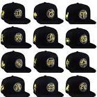 Unisex Baseball Cap Snapback Hat Gold Zodiac 12 Constellatio