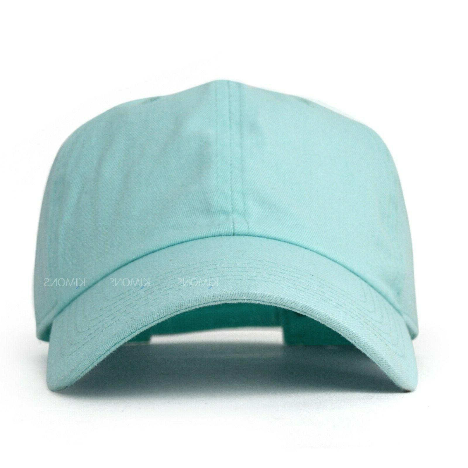 Baseball Cap Plain women Hat Hat Washed Ball