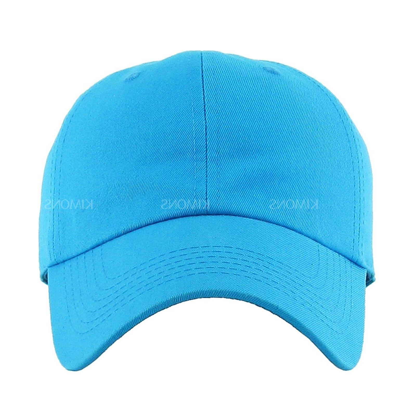 Baseball Plain men women Ball Hat Polo Washed