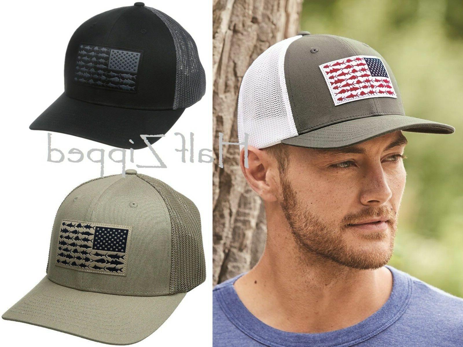 baseball hat pfg mesh flexfit ball cap