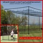 12' x 14' x 35' #42  Baseball Softball Batting Cage Nets Fre