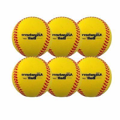 The Anywhere Ball Baseball Softball Foam Training Ball Batti