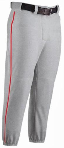Baseball Youth Pants w Piping and Colors
