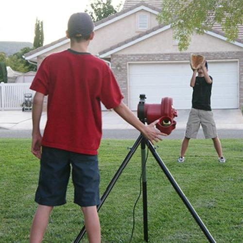 HEATER Teens, Adults, Uses Pitching & Real Ballfeeder