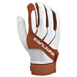 Rawlings BGP1150T-X-88 Adult Batting Gloves Texas Orange, Si