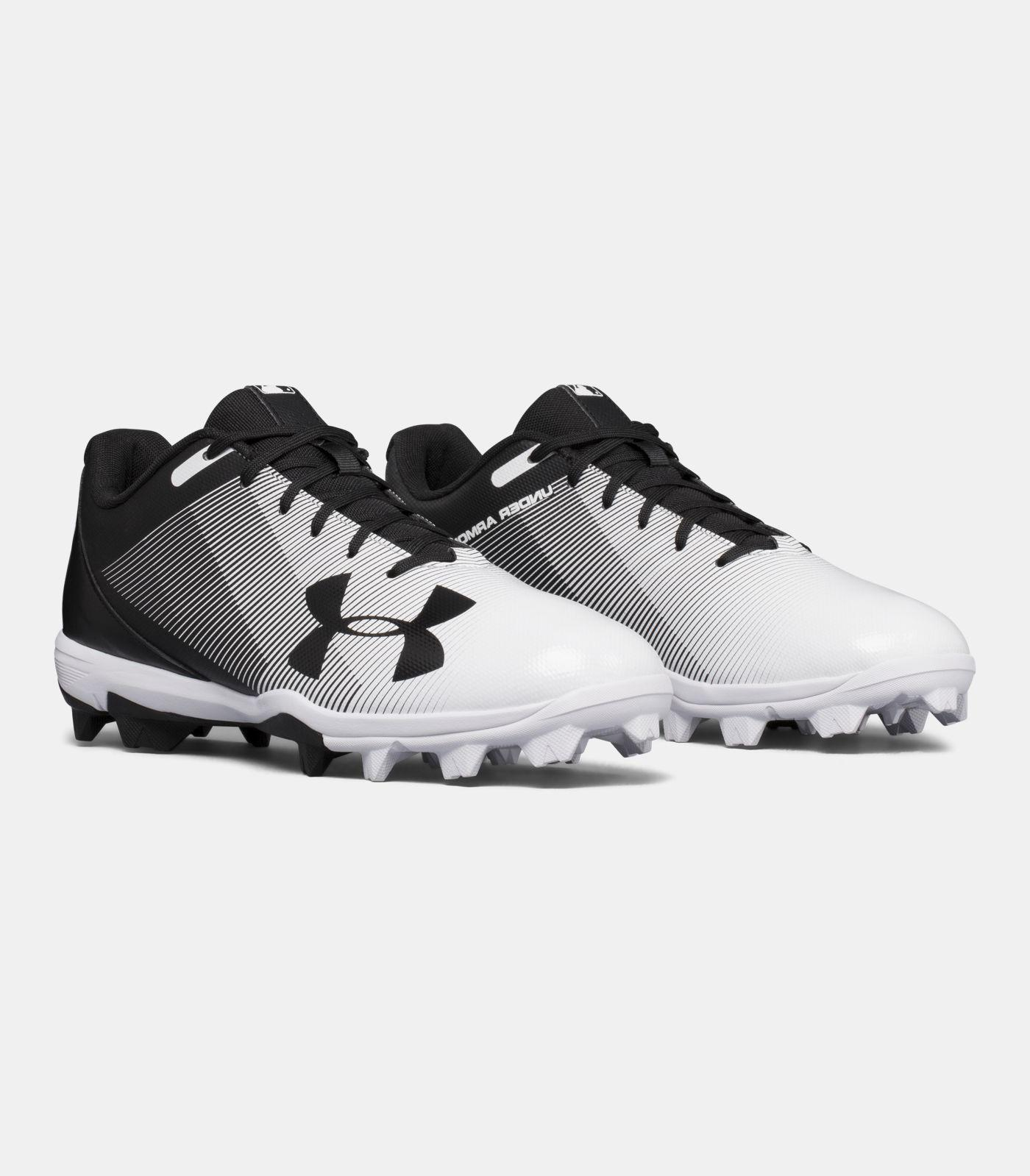 Under Armour Boys UA 2019 Leadoff Low RM Youth Baseball//Softball Molded Cleats