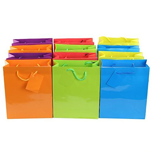 bright neon party present paper
