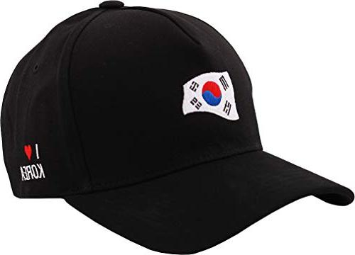 sujii BTS Baseball Outdoor Hat, Black