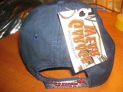BUBBA'S GARAGE AUTHENTIC GARAGE WEAR ADULT ONE SIZE NAVY BASEBALL CAP NEW