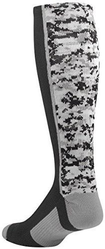 TCK Sports Digital Camo Over The Calf Socks
