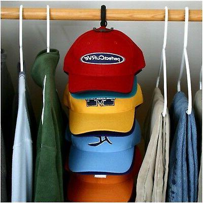 Cap Rack Hanger System Storage Caps Organizer Door Holder