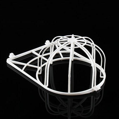 Cap Cage Ball Frame White