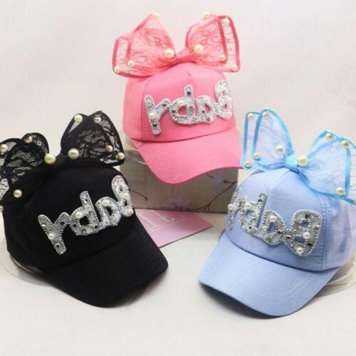 Children Snapback Hip Ear Pearl Big Kids