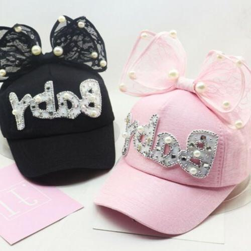Children Cap Girls Snapback Hip Hop Caps Ear Kids Sun Hat