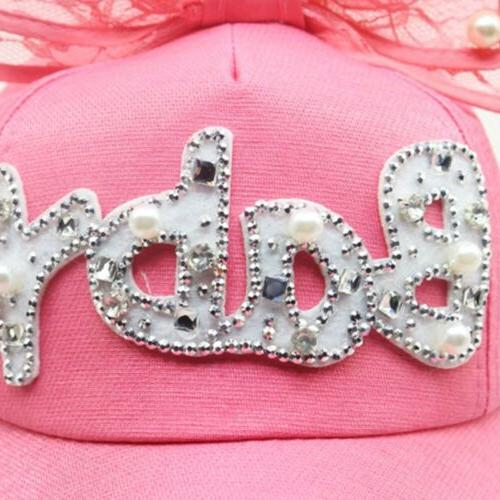 Children Girls Snapback Hip Kids