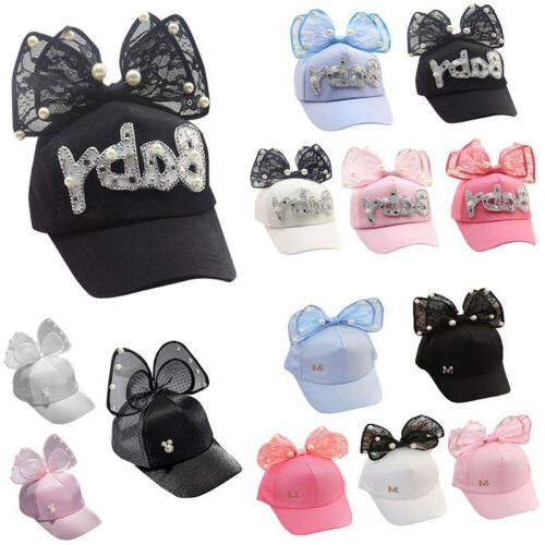 children baseball cap girls snapback hip hop