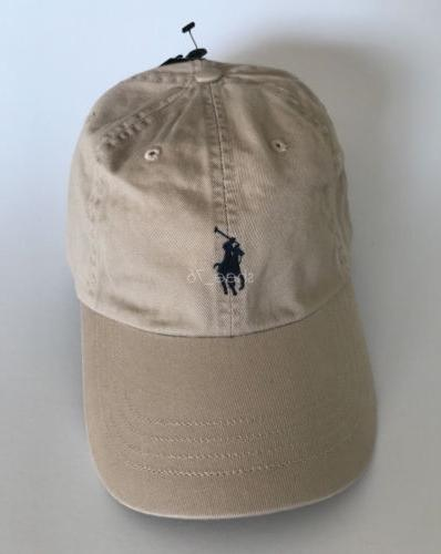 Classic Polo Small Embroidery Baseball Cap Mens Womens Adjustable Hat