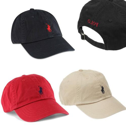 classic small embroidery pony baseball cap mens