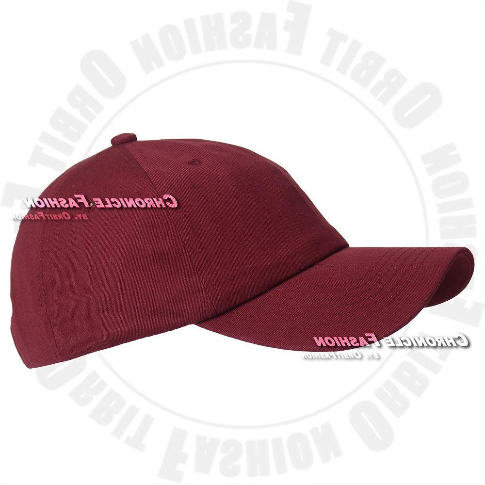 Baseball Hat Polo Style Solid Hats