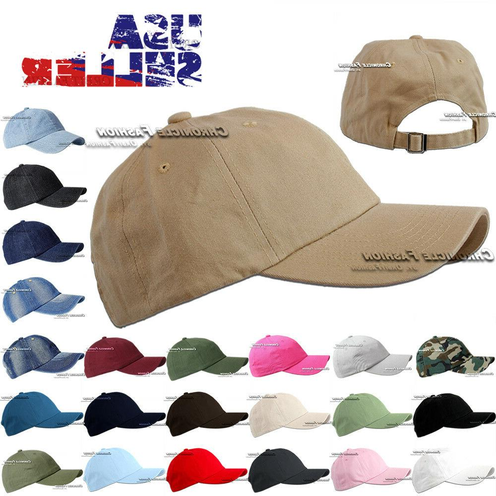 cotton hat baseball cap washed polo style