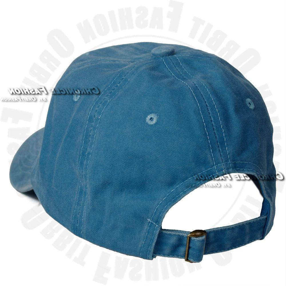 Washed Cap Style Dad Cap