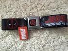 Deadpool Seat Belt Marvel Super Heroes Adjustable Avengers N