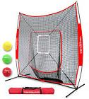 PowerNet DLX 2.0 Baseball Softball Hitting Net w/ 3 Progress